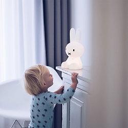 Veilleuse lapin Miffy silicone 30cm - Mr Maria