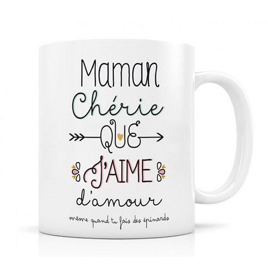 Mug céramique Maman Chérie