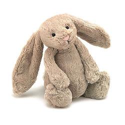 Peluche Jellycat lapin beige – Bashful beige bunny – Small BASS6B 18cm