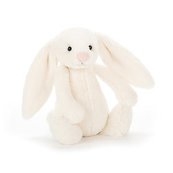 Peluche Jellycat lapin cream – Bashful cream bunny – Small BASS6BC 18cm