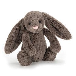 Peluche Jellycat lapin truffle – Bashful truffle bunny – Small BASS6BTR 18cm