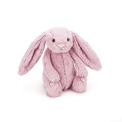 Peluche Jellycat lapin tulip – Bashful tulip bunny – Medium BAS3BTP 31cm