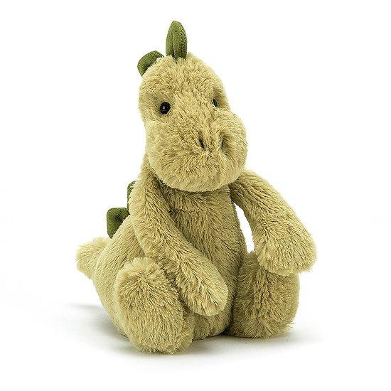 Peluche Jellycat Dino – Bashful Dino - Small BASS6DNO 18cm