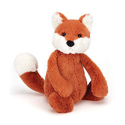 Peluche Jellycat Renard – Bashful Fox - Medium