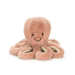 Peluche Jellycat Pieuvre – Odell Octopus - Tiny