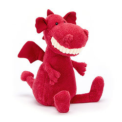 Peluche Jellycat Sourire Dragon – Toothy Dragon