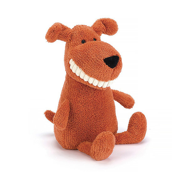 Peluche Jellycat Sourire Chien – Toothy Mutt
