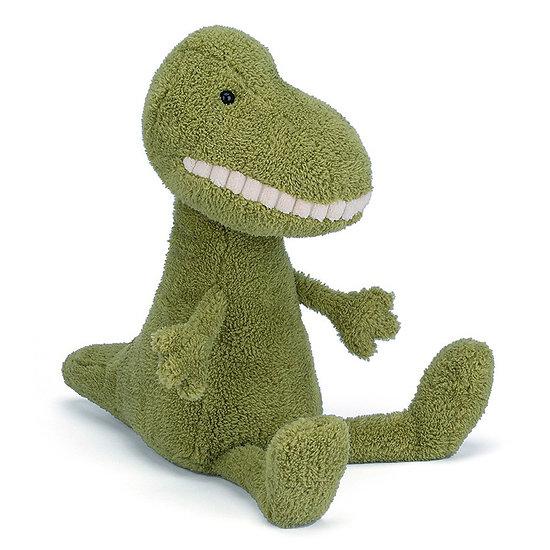 Peluche Jellycat Sourire Dinosaure – Toothy T-Rex