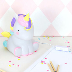 Lampe de chevet Licorne - A Little Lovely Company