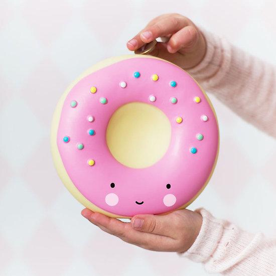 Tirelire Donut Rose - A Little Lovely Company