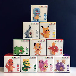 Nanoblok Pokemon