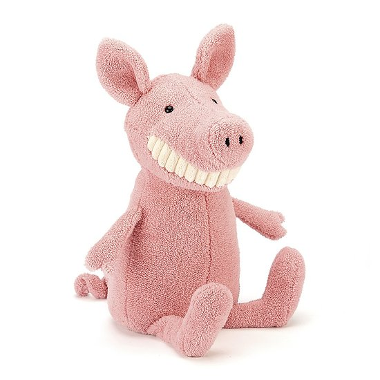 Peluche Jellycat Sourire Cochon – Toothy Pig