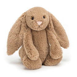 Peluche Jellycat lapin biscuit – Bashful biscuit bunny – Medium BAS3BIS 31cm
