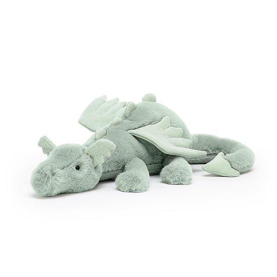 Peluche Jellycat Dragon Sage – Sage Dragon – SAGE2DD 12x50cm