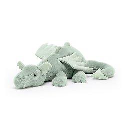 Peluche Jellycat Dragon Sage – Sage Dragon – Medium SAGE2DD 12x50cm