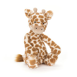 Peluche Jellycat girafe – Bashful giraffe – Small BASS6GS 18 cm
