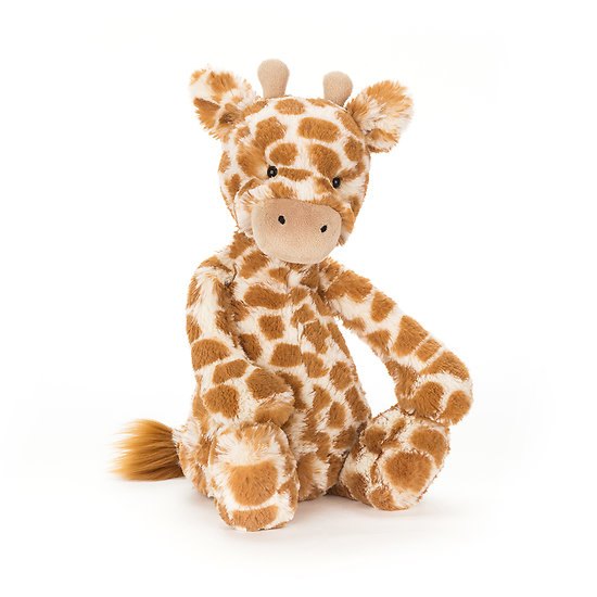 Peluche Jellycat girafe – Bashful giraffe – Medium BAS3GN 31cm