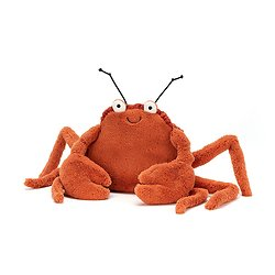 Peluche Jellycat Crispin Le Crabe – Crispin Crab - CC2C 15 cm