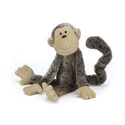Peluche Jellycat Mattie Le Singe – Mattie Monkey - Small MAS4MK 31cm
