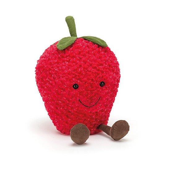 Peluche Jellycat Fraise – Amuseable Strawberry - A2S 27x17x13cm