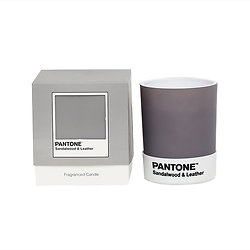 Petite bougie Pantone - Sandalwood & Leather