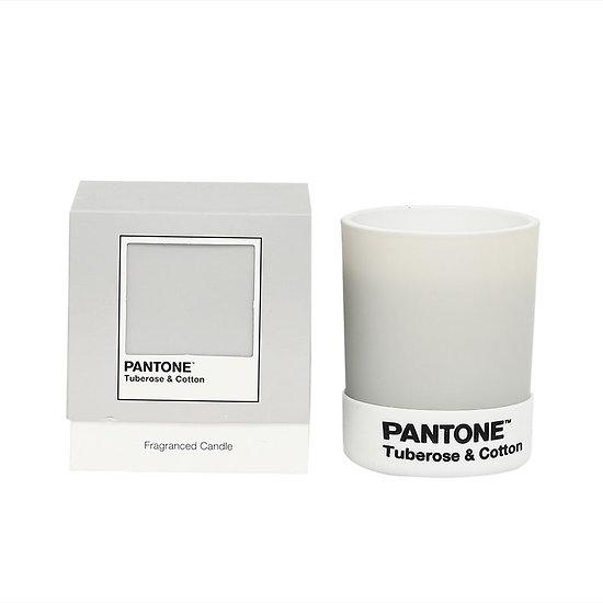 Petite bougie Pantone - Tuberose & Cotton