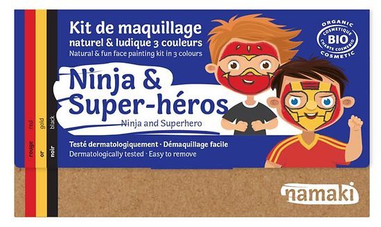 Kit de Maquillage Ninja & Super-Héros