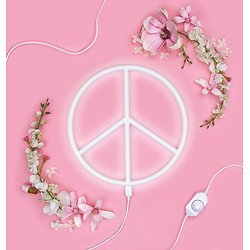 Lampe Néon Peace & Love - A Little Lovely Company