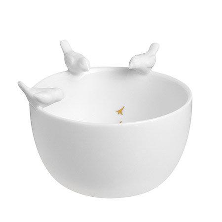 Bol Porcelaine Oiseaux