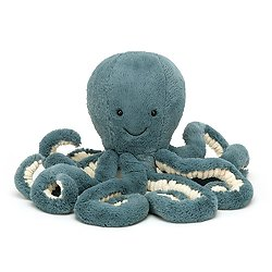 Peluche Jellycat Pieuvre - Storm Octopus - Medium ST2OC 49cm