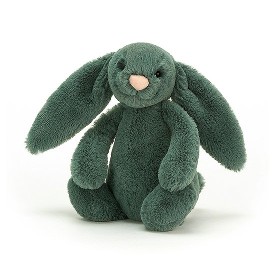 Peluche Jellycat lapin Foret – Bashful Forest bunny – Small BASS6FB 18cm