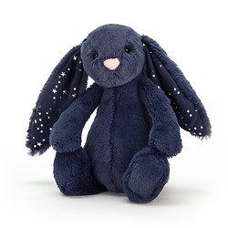 Peluche Jellycat lapin Bleu Etoile – Bashful Stardust bunny – Small BASS6SD 18cm
