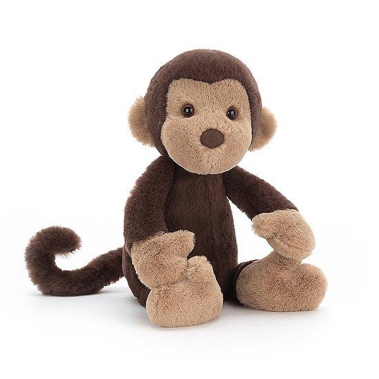 Peluche Jellycat Wumper Le Singe – Wumper Monkey - WUM3M 31cm
