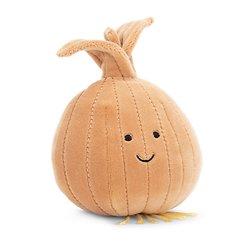 Peluche Jellycat Légume Oignon – Vivacious Vegetable Onion - VV6O - 9 cm
