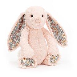 Peluche Jellycat lapin  – Blossom blush bunny – Medium BL3BLU 31 cm