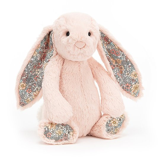 Peluche Jellycat lapin  – Blossom blush bunny – Small BL6BLU 18 cm