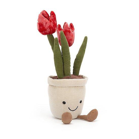Peluche Jellycat Tulipe - Amuseable Tulip - A2TU 23cm