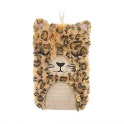 Bouillotte à eau en peluche Leopard