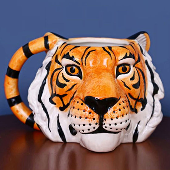 Mug tête de tigre luxe - Temerity Jones