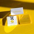 Lot de 3 savons naturels jaune Curious - Sauge et Romarin - The Cool Projects