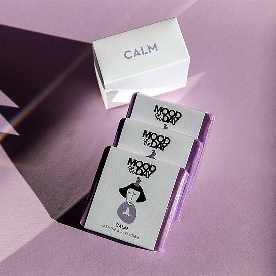 Lot de 3 savons naturels violet Calm - Lavande et Jasmin - The Cool Projects