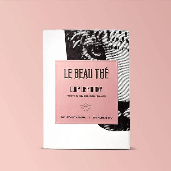 Coup de foudre - Infusion aphrodisiaque bio - Léopard - Made in France