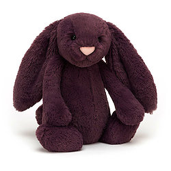 Peluche Jellycat lapin violet – Bashful plum bunny – Small BASS6PLUM 18cm