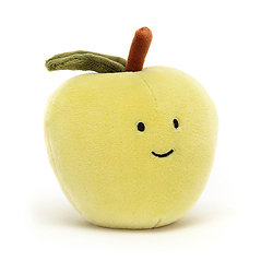 Peluche Jellycat Pomme – Fabulous Fruit Apple - FABF6A 7cm