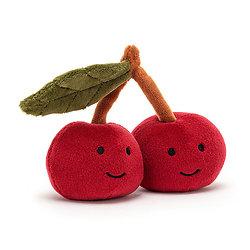 Peluche Jellycat Cerise– Fabulous Fruit Cherry- FABF6C 9cm