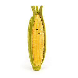Peluche Jellycat Maïs – Vivacious Vegetable Sweetcorn - VV6SC - 20 cm