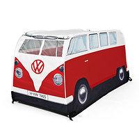 Tente de jeux enfants - Combi Volkswagen rouge