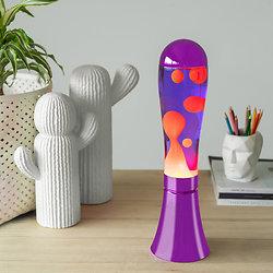 Lampe à lave Violet / Rouge - 45 cm