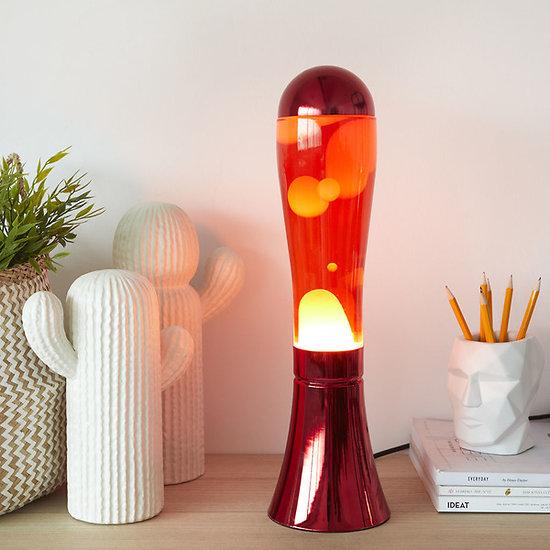 Lampe à lave Rouge - 45 cm