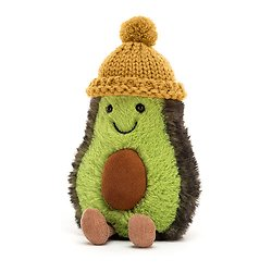 Peluche Jellycat Avocat - Amuseable Avocado Mustard - COZ4M 16 cm